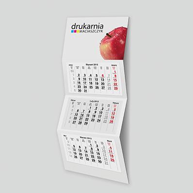 3-Monats Wandkalender STANDARD