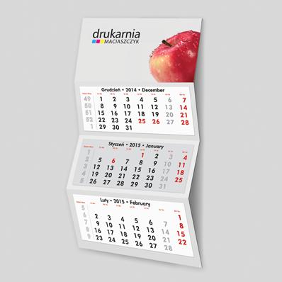 3-Monats Wandkalender GROSS